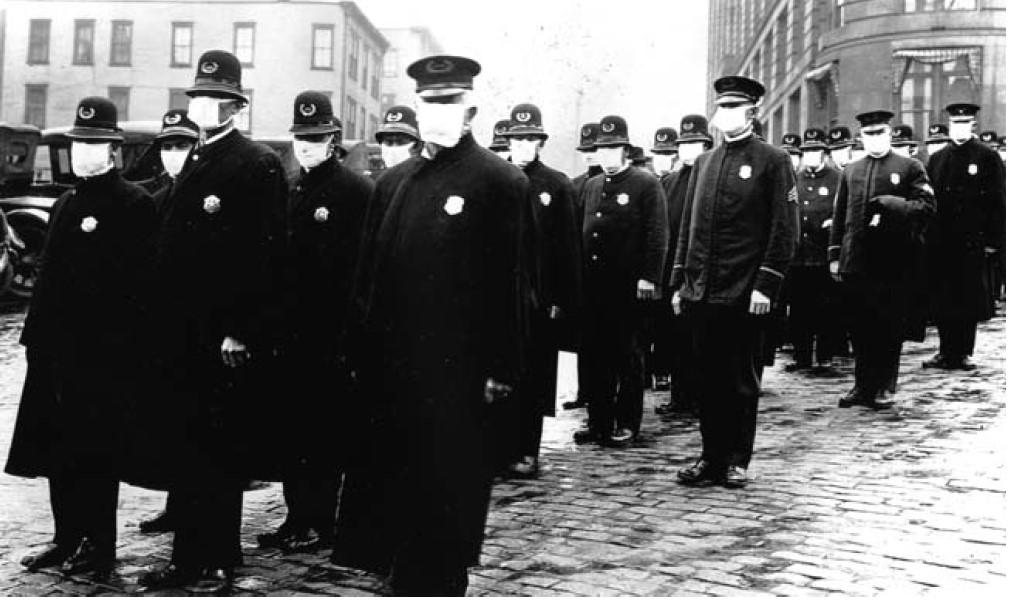 Flu Seattle cops