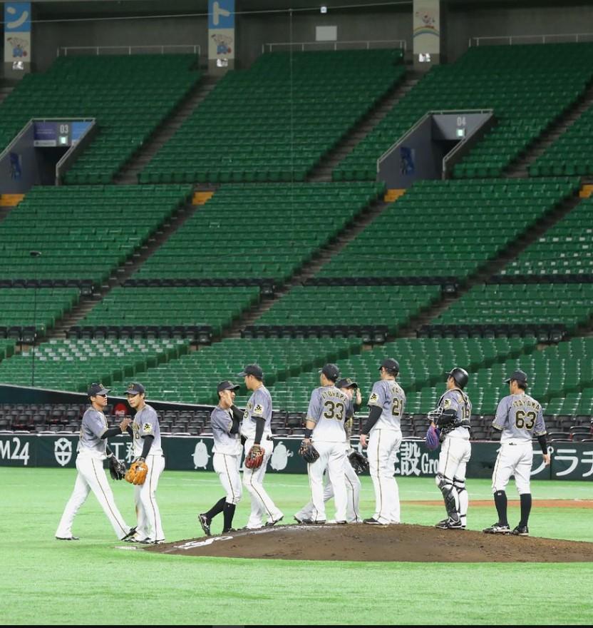 empty ballpark trimmed